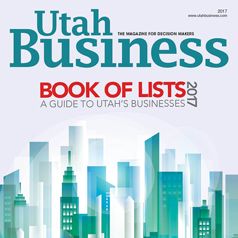 2017 Utah Business Book of Lists Cover