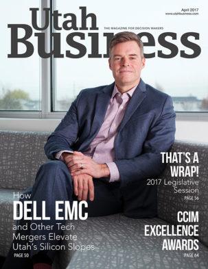 Utah Business April 2017 Cover