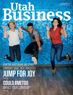 Utah Business December 2017 Cover