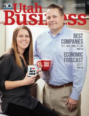 Utah Business December 2016