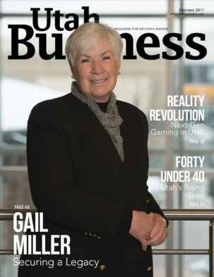 Utah Business February 2017 Cover