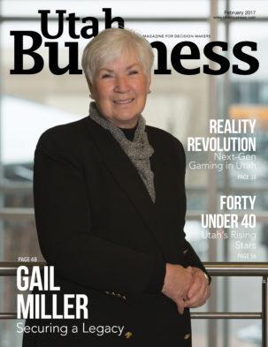 Utah Business February 2017 Cover