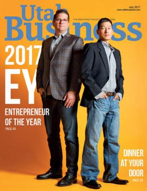 Utah Business July 2017 Cover