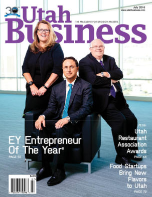 Utah Business July 2016
