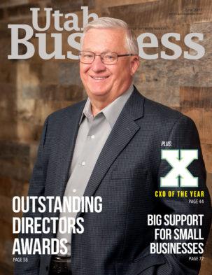 Utah Business June 2017 Cover