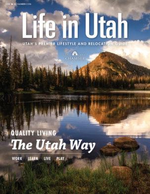Life in Utah 2018 Cover