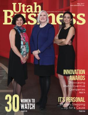 Utah Business May 2017 Cover