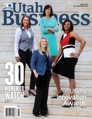 Utah Business May 2016