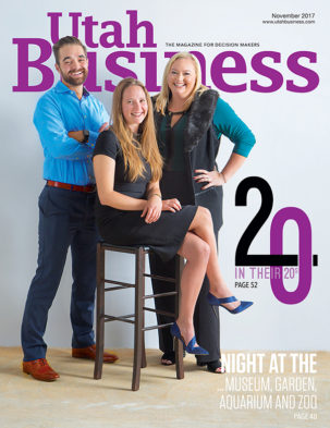 Utah Business November 2017 Cover