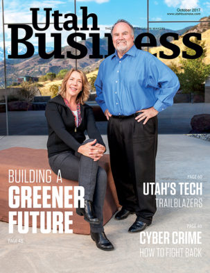 Utah Business October 2017 Cover
