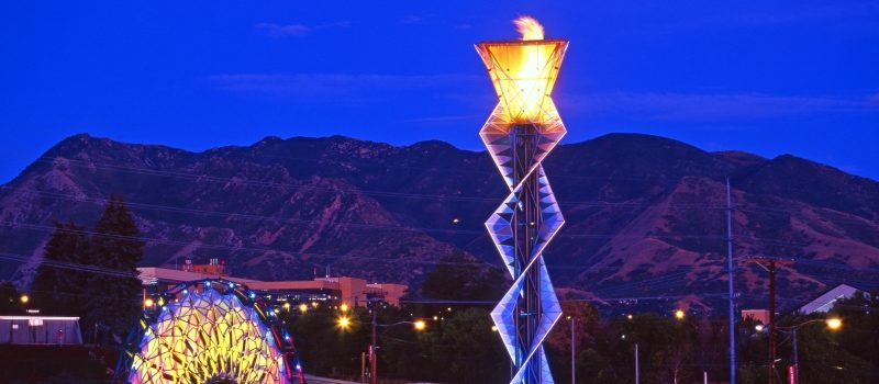 Salt Lake City Olympic Cauldron - Steve Greenwood