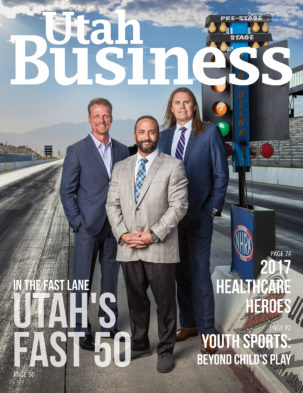 Utah Business September 2017 Cover