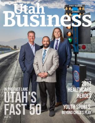 Utah Business September 2017 Cover