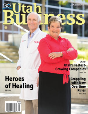 Utah Business September 2016