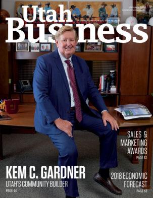 Utah Business January 2018 Cover