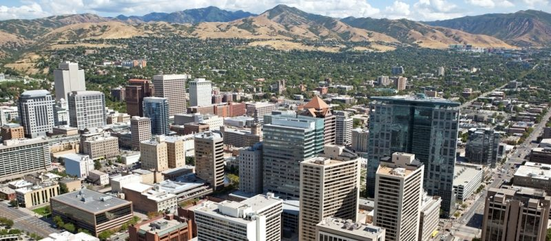Salt Lake City Aerial