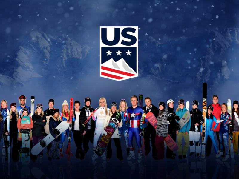 US Ski and Snowboard group photo