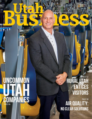 Utah Business August 2017 Cover
