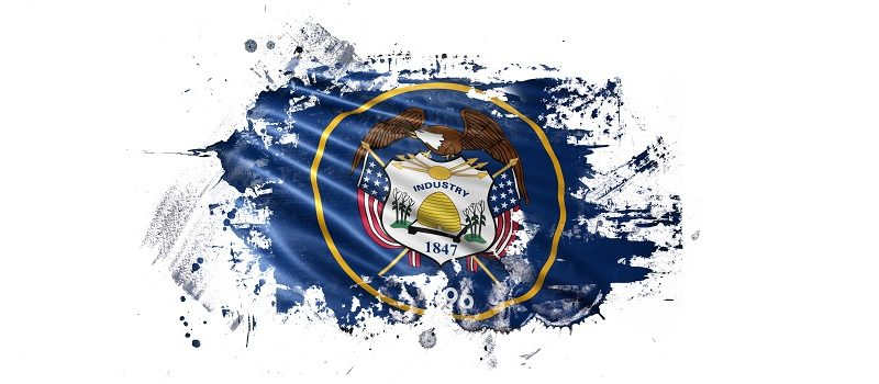 Distorted Utah Flag