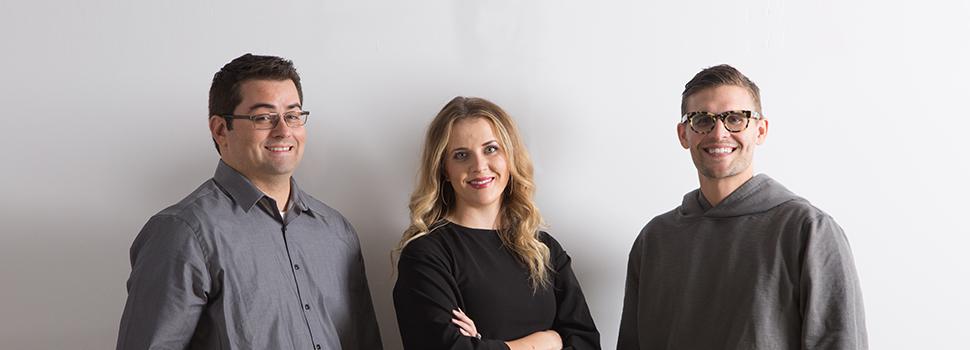 Thiefaine Magré, Bradi Hill, Kory Stevens, Utah Business 20 in Their 20s