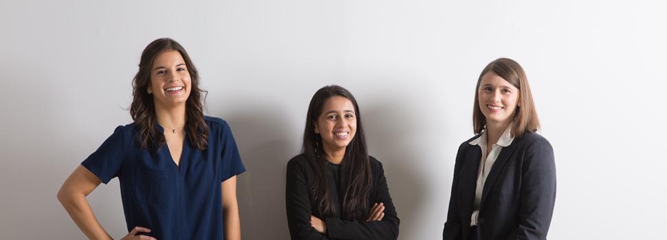 Elaina Pappas, Meera Kansagra, Camille Van Wagoner Hawkins, Utah Business 20 in Their 20s