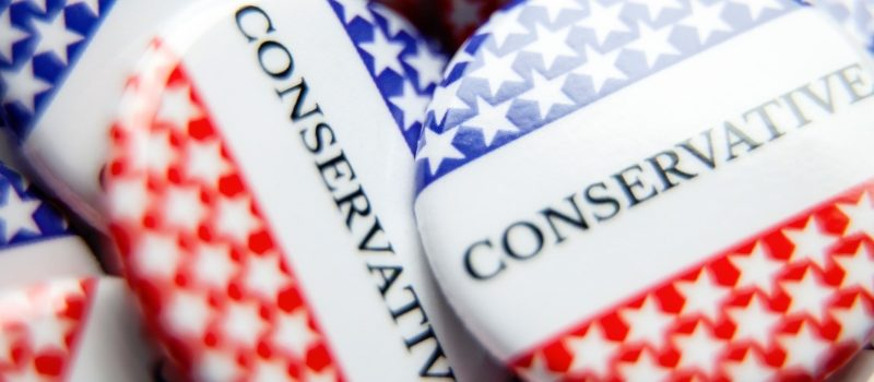 Conservative Political Buttons