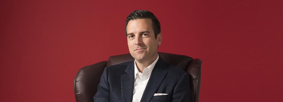 Gabe Larsen, InsideSales.com, Utah Business' 2018 SAMY Awards