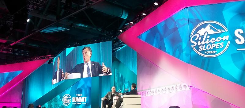 Mitt Romney at Silicon Slopes Summit