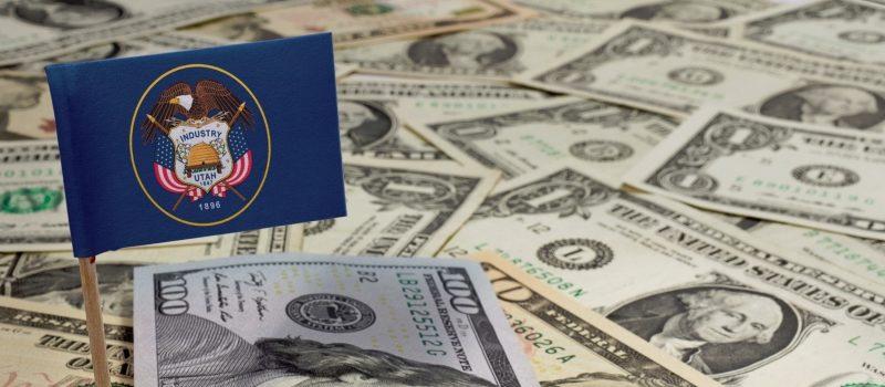 Utah Flag, Money