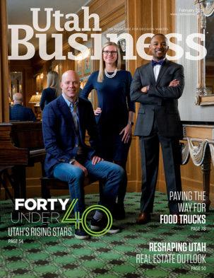 Utah Business February 2018 Cover