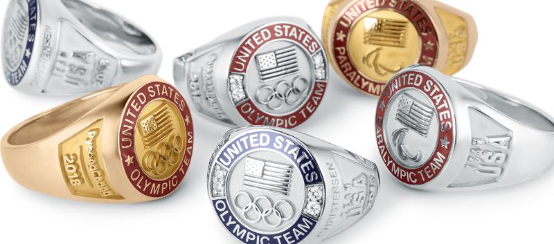 O.C. Tanner Olympic Rings