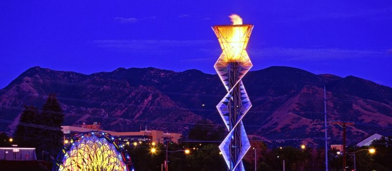 Salt Lake City Olympic Cauldron