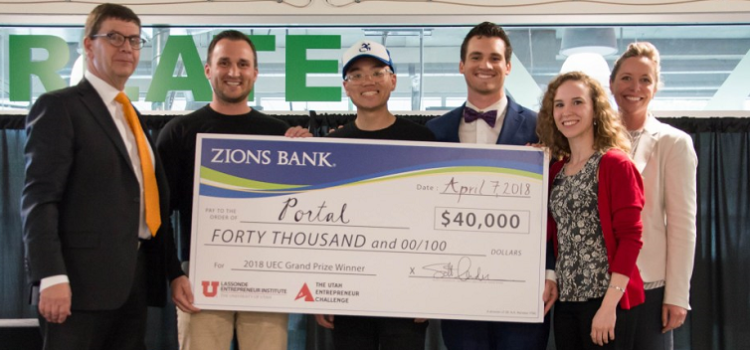 Portal Wins $40,000 Grand Prize in the 2018 Utah Entrepreneur Challenge