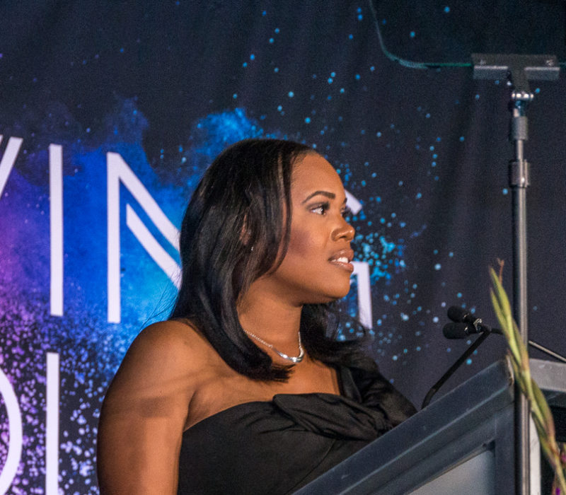 Britni Johnson, emcee of the 2019 Living Color Gala