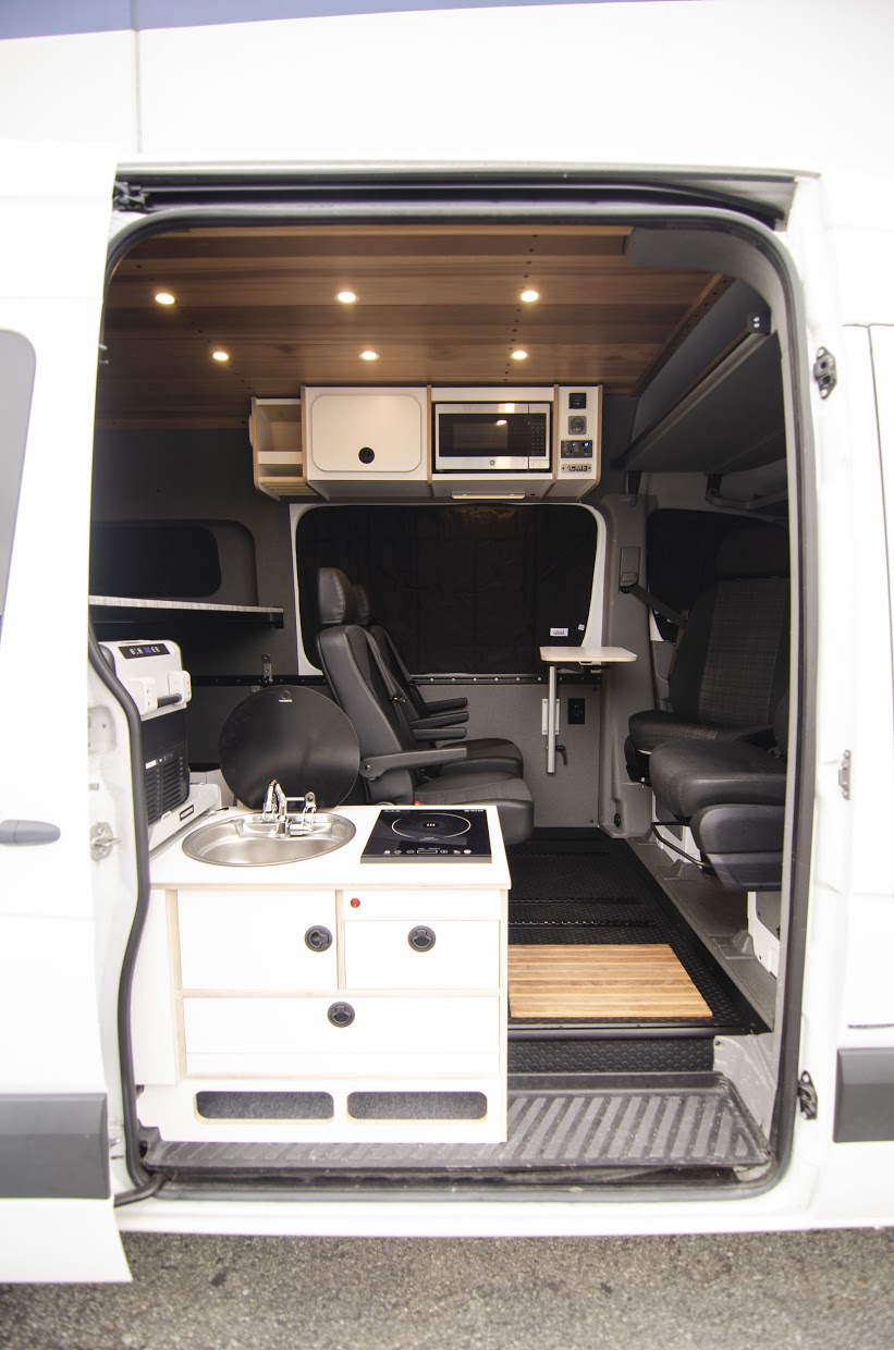 Van customization companies will help you build the camper van of your dreams.