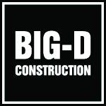 Big D Construction Logo- vip name badges