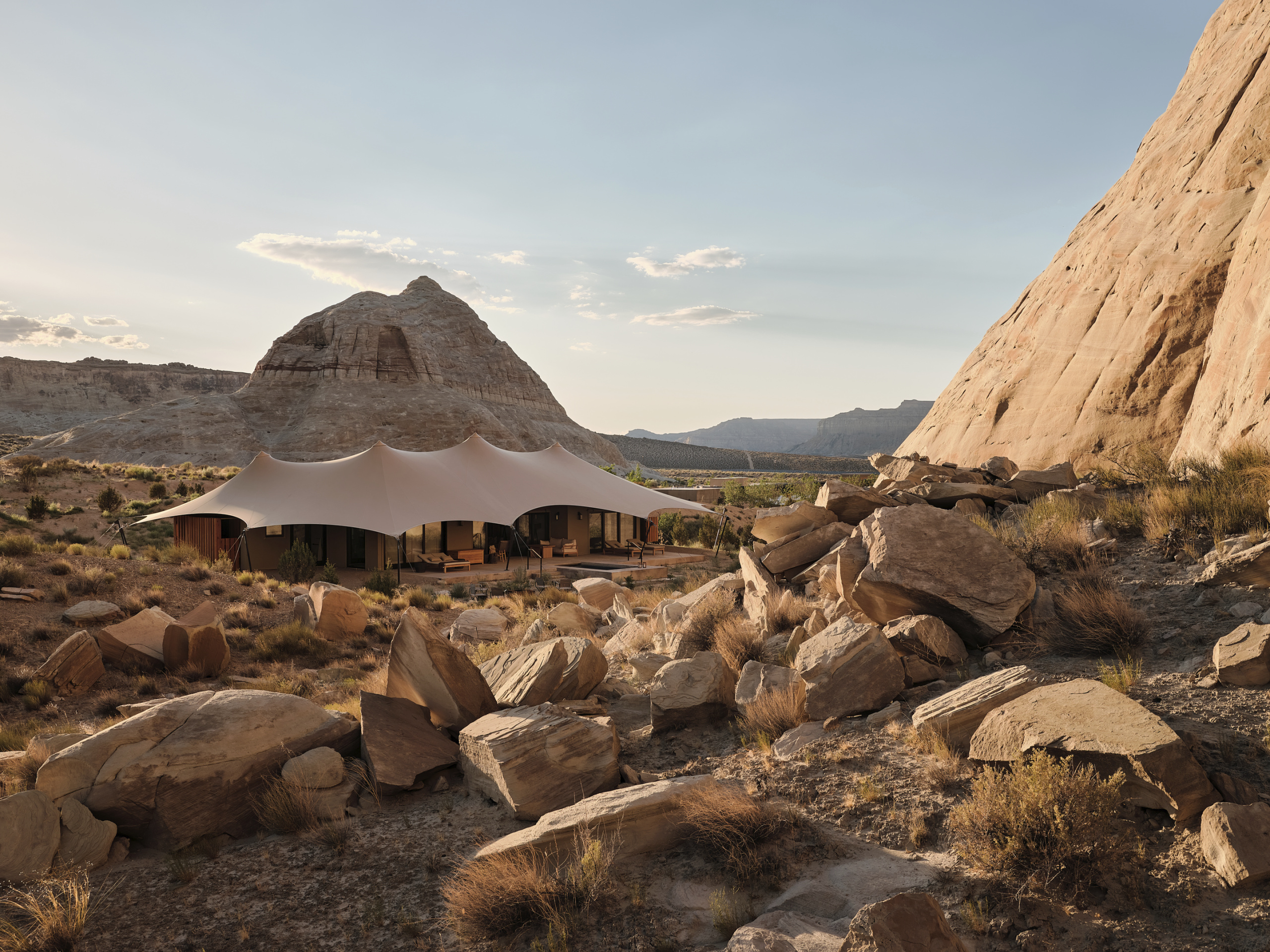 In the June edition of the Founder Series, Homi Vazifdar shares how he co-founded Utah's Amangiri resort.