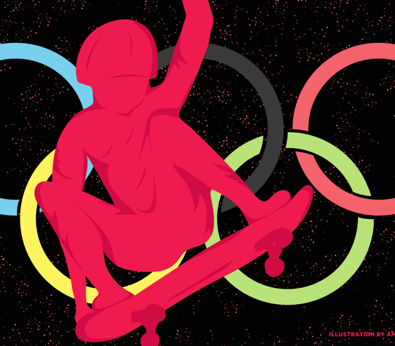 Cole Sax, a Salt Lake City director and producer Tony Hawk share how Olympic skateboarding began.