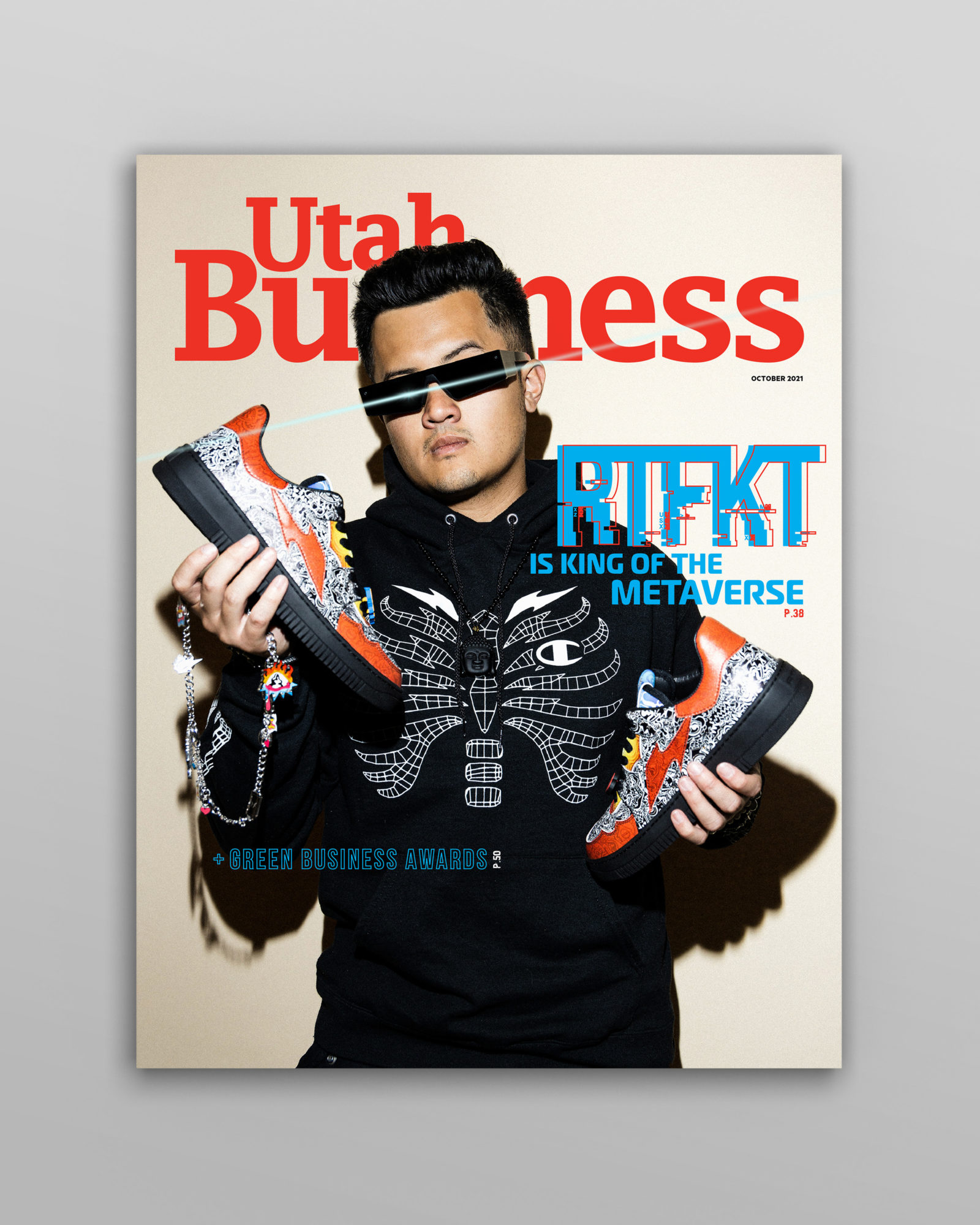 The Utah Business - October 2021 issue features an inside look at RTFKT cybersneakers, our Green Business honorees, and how Moises is changing music.